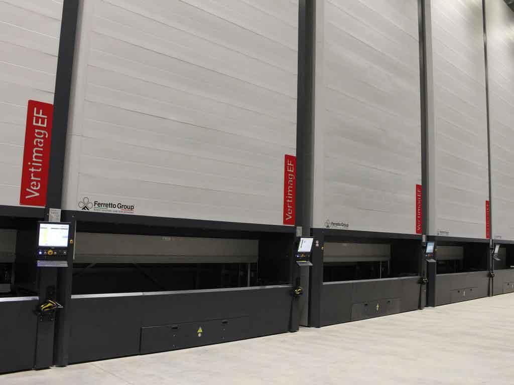Automated Vertical Storage (Vertimag)