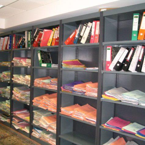 OFFICE & LIGHT SHELVING SYSTEM