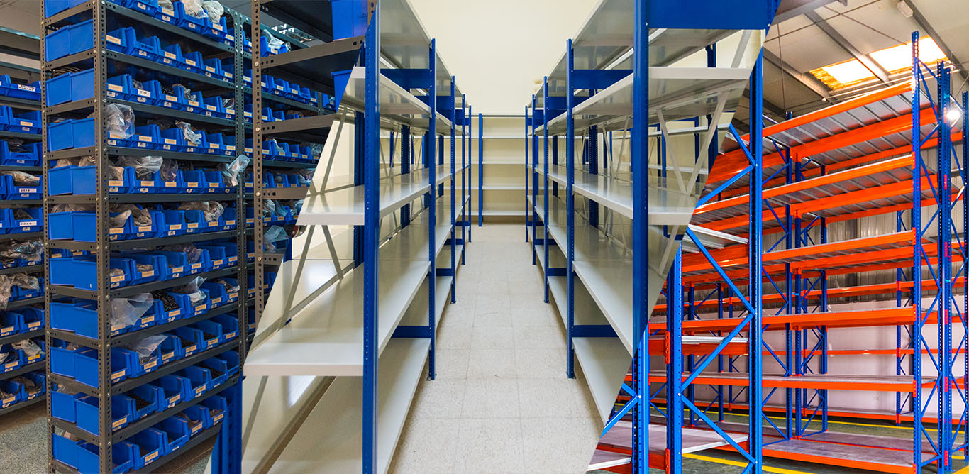 Different between Shelving and Pallet Racking